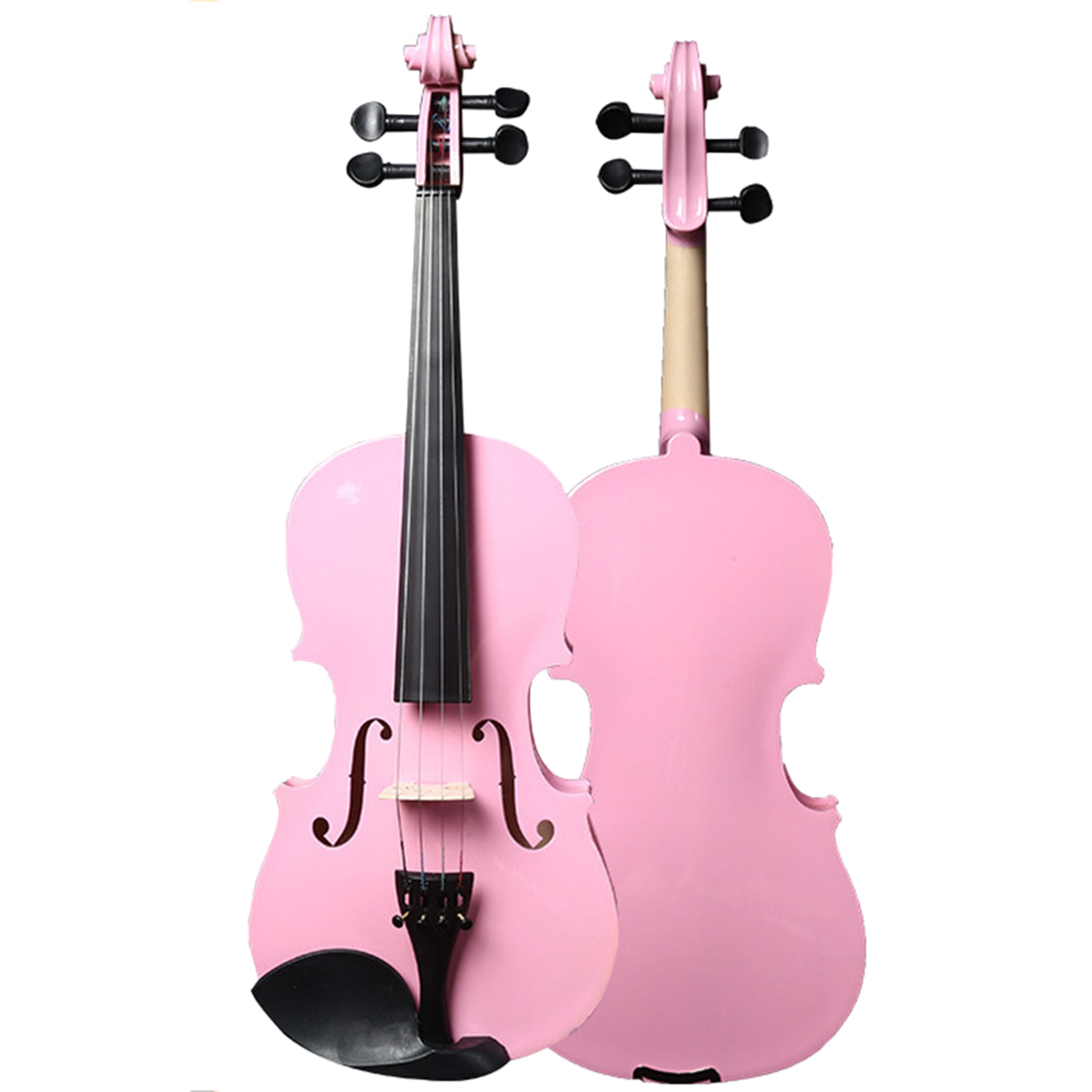 Basswood Beginner Violin Musical Instrument for 160cm Adult 135cm Children 2019 Educational Instrument Violin Gift image