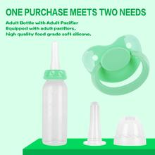 Baby Large Nipple Bottle Set Adult Bottle 240ML Drinking Bottle