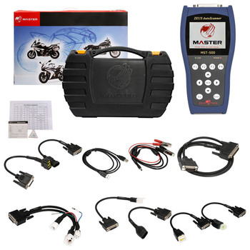 MST-500 OBD Motorcycle Scanner Tool MST 500 Handheld Diagnostic for Universal Motorbikes Work Perfect and Free Shiping