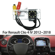 Car Rear View Backup Camera For Renault Clio 4 IV 2011~2012 Clear Night Vision(China)