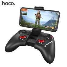 Hoco controle wireless de videogame para ps4, gamepad e joystick com bluetooth para jogos de ps4, acessório para celular iphone e android