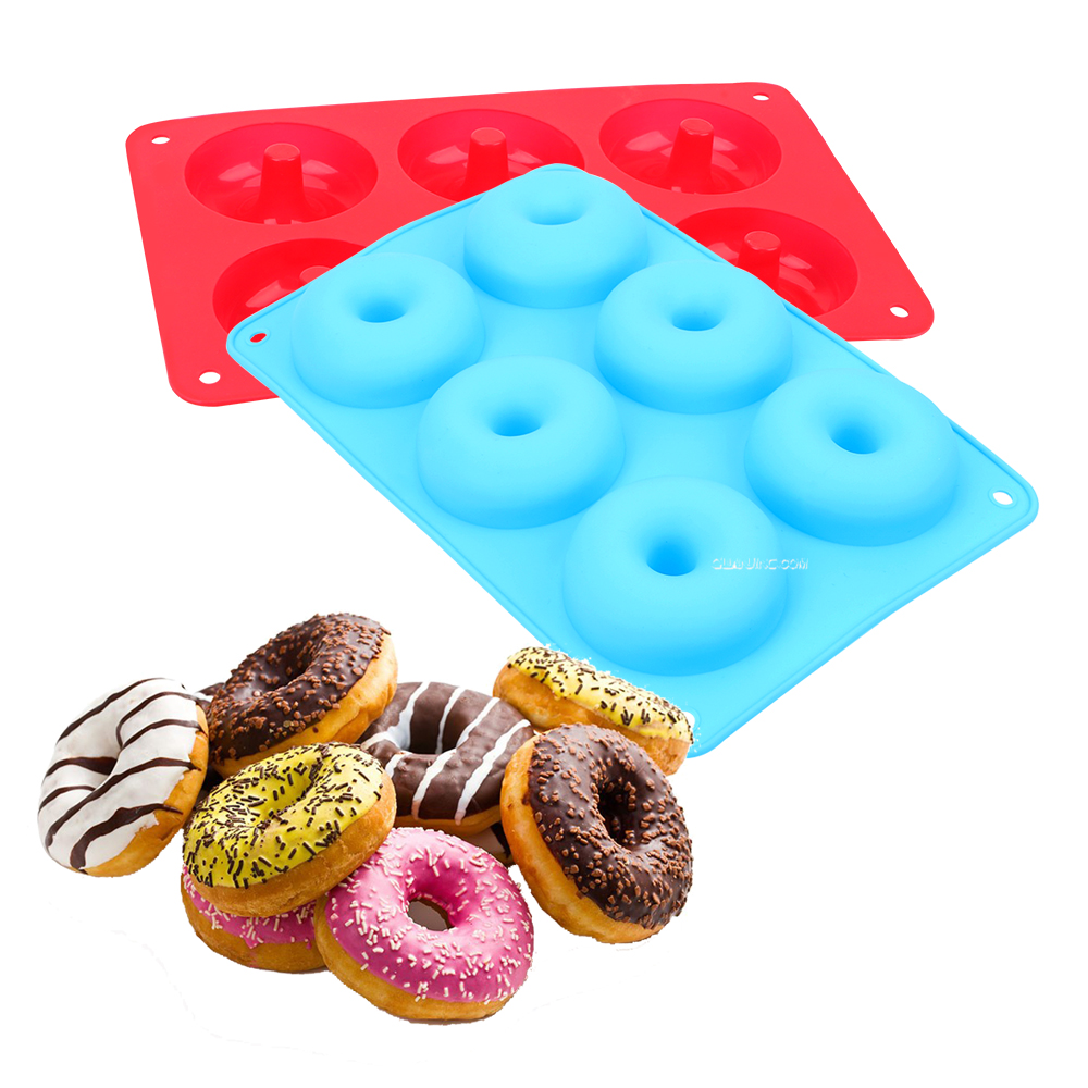 Donut-Mold Biscuit Cake-Mould Donut-Baking-Pan Kitchen-Tool Chocolate Non-Stick 6-Cavity title=