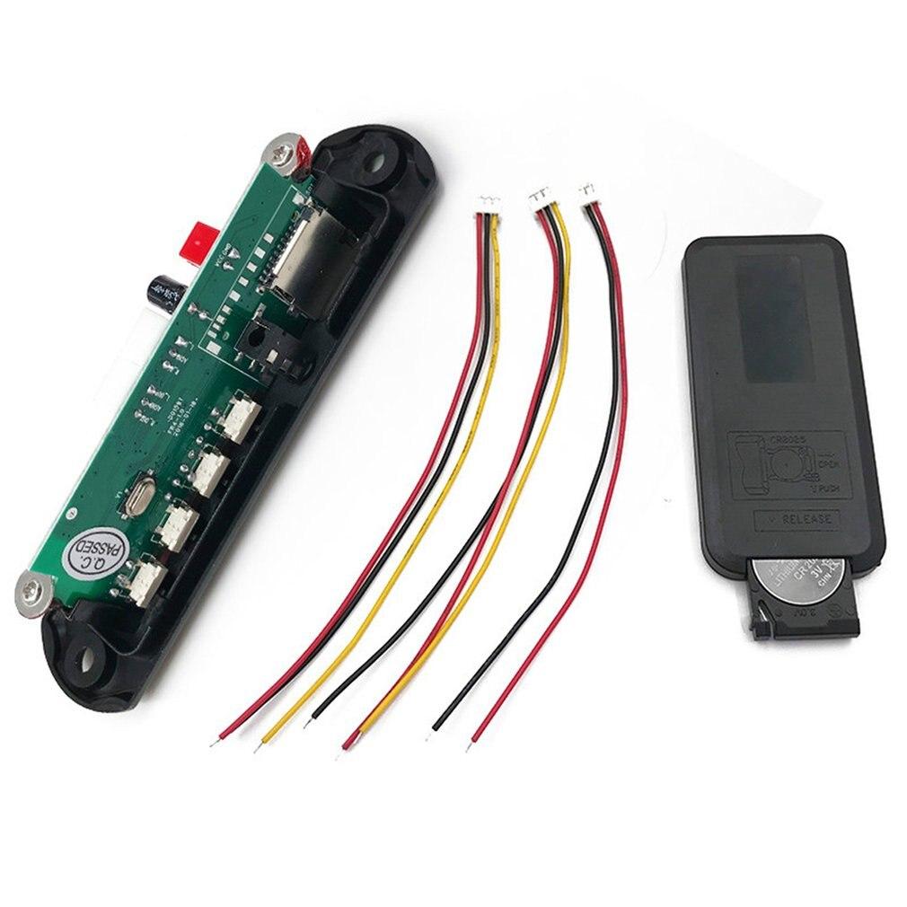 MP3 Decoding Board Module Wireless Car USB MP3 Reader TF Card Decoding Board Module Auto Accessories