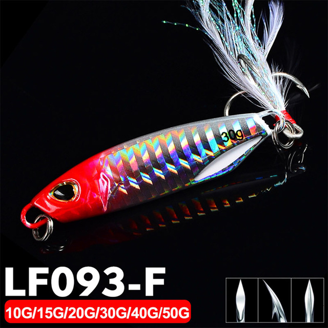 Fishing Lure 10 20 30g Light Silicone Bait Wobbler Spinners Bait Winter Sea Ice