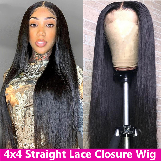 Para el cabello Beaudiva 13*4 del pelo humano del frente del cordón pelucas con minimechones lejía nudos cierre 4x4 peluca brasileña del pelo humano del frente del cordón pelucas