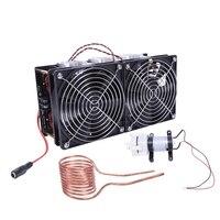 12-48 v 2500 w zvs aquecedor de indução aquecimento pcb placa módulo flyback driver com bomba para a indústria do carro