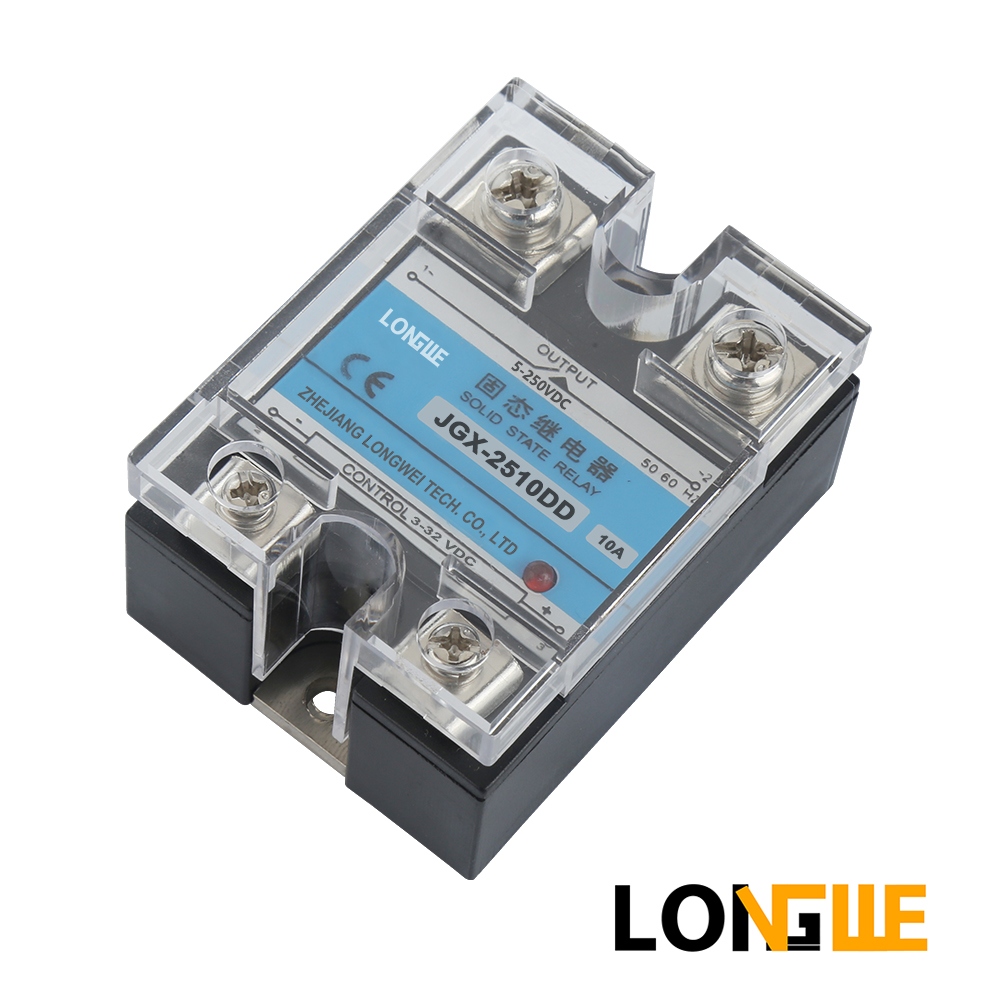 SSR-2540DD , 10 TO <font><b>100A</b></font> ,<font><b>DC</b></font> Control <font><b>DC</b></font> ,CE Solid State Relay Input 3-32VDC, Control Output 5-250VDC/5-110VDC/5-60VDC (SSR-DD) image
