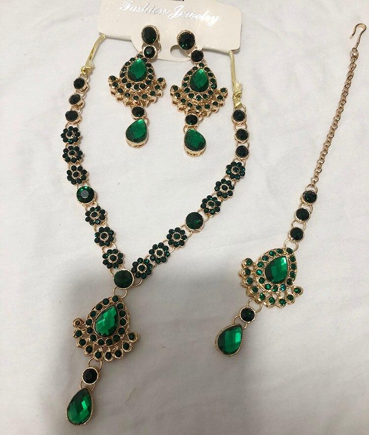 Hot Sale Elegant Ethnic India Saree Accessory Eardrop Dancing Earrings Dangler For Women