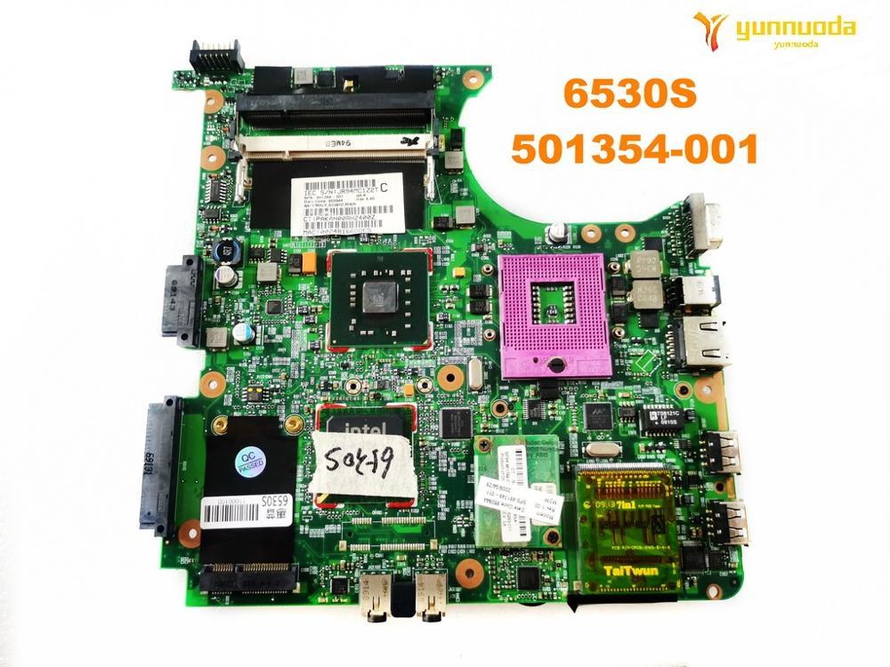 HP 6531s 6830s 491976-001 Laptop Motherboard Test OK