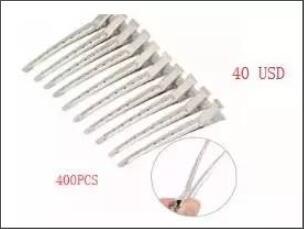 Clipe em Preto Clipe de Prata Tranças para Guangzhou 400pcs 100pcs Pente 132 Peruca 200 Pcs 50ml Box &
