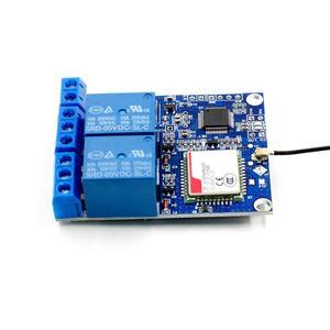 Image 5 - 2 Modulo di Relè canale SMS di GSM di Controllo Remoto Interruttore SIM800C STM32F103C8T6 per la Serra di Ossigeno Pompa