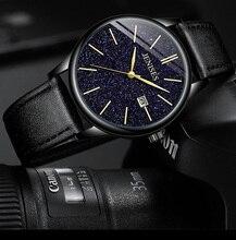 лучшая цена Top Brand Luxury Watches Business Quartz Man Wristwatch Casual Leather Brand Calendar Male Clock Men 2019 Mens Fashion Watch