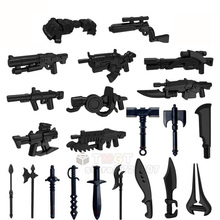 Военный пистолет, оружие, набор оружия для стрельбы, аксессуары для солдат, строительные блоки, детские подарки, игрушки T502