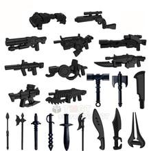 צבאי אקדח נשק סדרת GunSwot Blaster חבילת E 11 DL 44 זרועות לחיילים אבזר אבני בניין ילדי מתנות צעצועי T502