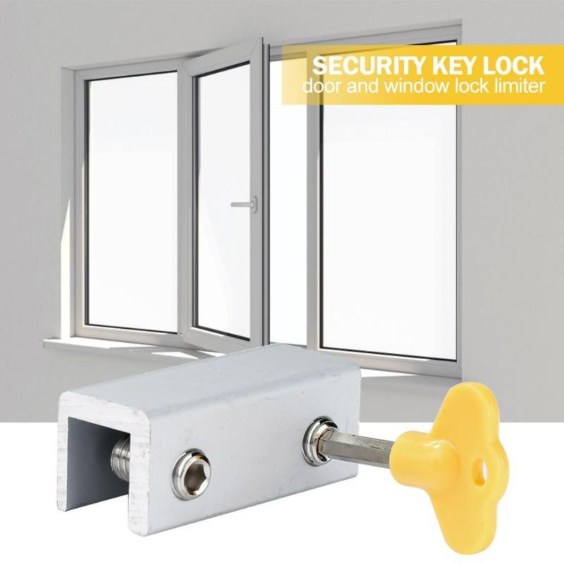 Lopbinte Aleaci/óN de Aluminio Seguridad Autom/áTica Ventana Cerradura de Puerta Muelle Rebote Puerta Perno Pestillo Blanco