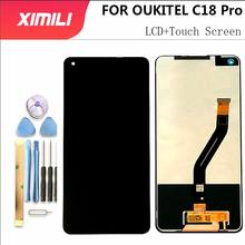 6.55 inch OUKITEL C18 Pro LCD Display+Touch Screen 100% Original Tested LCD Digitizer Glass Panel Replacement For OUKITELC18 Pro