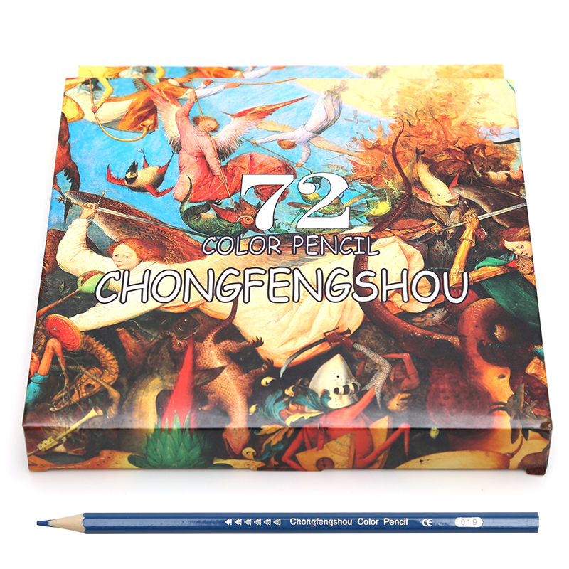 72 Colored Pencils Professional 72 Vibrant Color Pencil Set For Drawing,  Sketching, Adult Coloring Book|Colored Pencils- AliExpress
