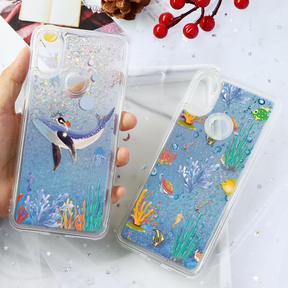 Quicksand Glitter TPU Case For Xiaomi Mi Redmi Note K20 7 6 5 Pro Plus Mi A1 5X A2 6X 8 Lite 8 SE 9 9T Pro F1 Mix 2s S2 Y2 Cases