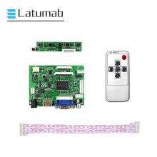 Плата Latumab 40Pin для ЖК-дисплея 8 дюймов 1024 × 768, Монитор контроллера, HDMI, VGA, 2AV, комплект платы аудио драйвера
