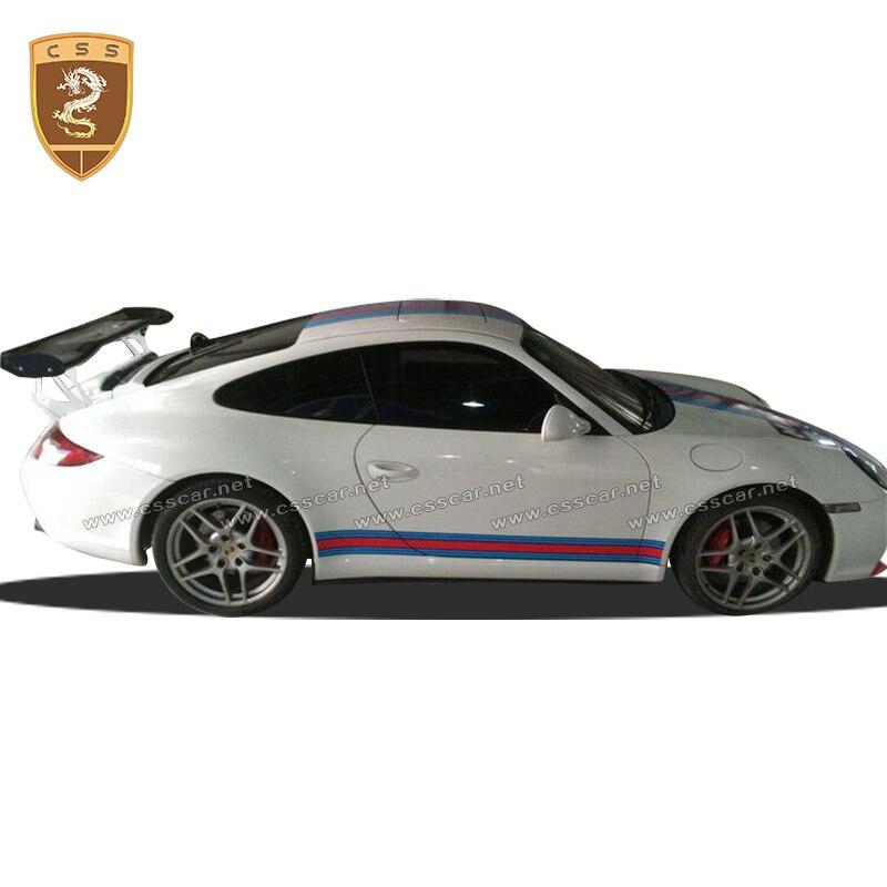 Becquet daile arrière en fibre de carbone de style GT4 pour Porscher 911 997 changement accessoires de voiture de Style GT4 spotors arrière 00321