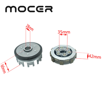 6 Slices 70 Teeth Centrifugal Clutch Engine Thick Gear  CG/CB200 Fit For ZS LC LF CG200 Water-cooled Motocross LH-112N
