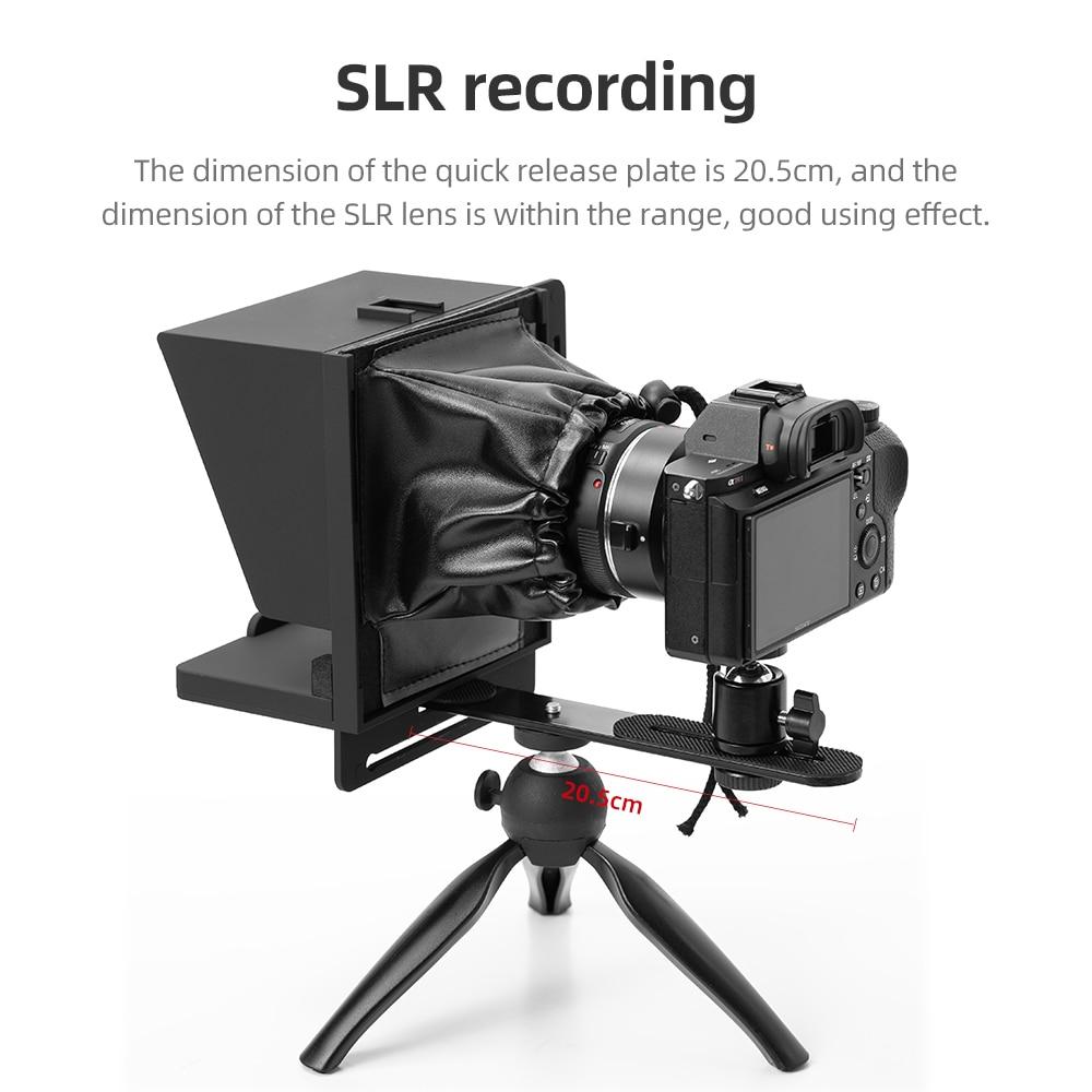 Купить новый prompter камеры смартфона телесуфлер для интервью в прямом