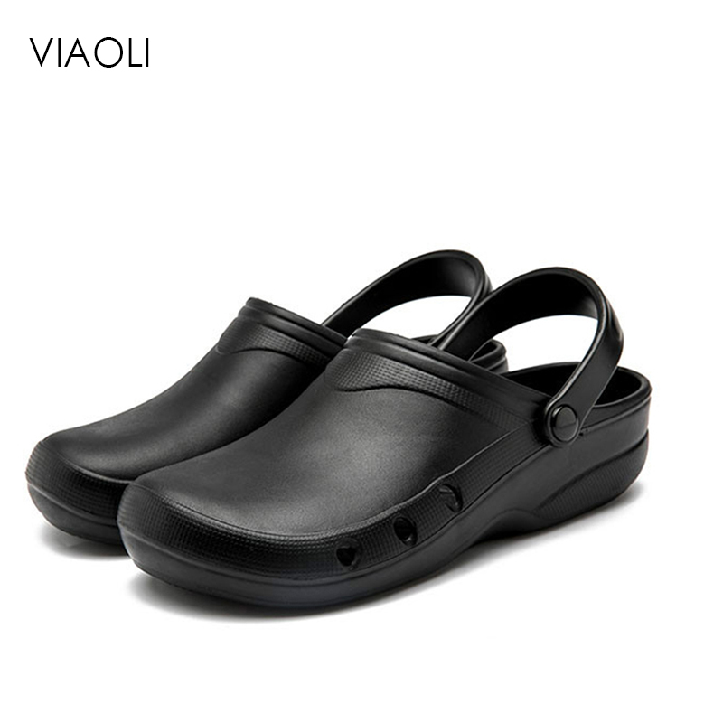 Chef Shoes Breathable Kitchen Professional Work Wear Shoes Hotel Restaurant Non-slip Waterproof Lightweight Men Women Cook Shoes