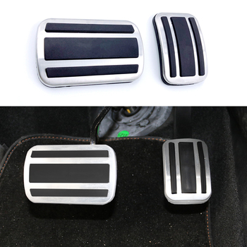Car Styling Pads Break Accelerator Pedals For Peugeot 308 3008 408 4008 5008 For Citroen C5 Picasso AT MT Car Accessories lsrtw2017 aluminium alloy car accelerator brake pedal trims for peugeot 3008 5008