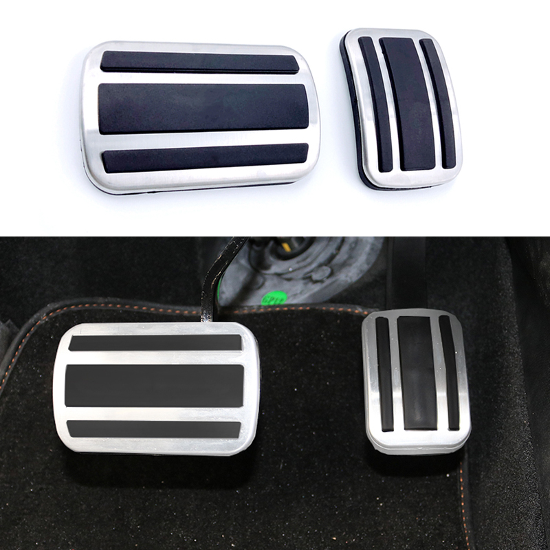 Car Styling Pads Break Accelerator <font><b>Pedals</b></font> For <font><b>Peugeot</b></font> <font><b>308</b></font> 3008 408 4008 5008 For Citroen C5 Picasso AT MT Car Accessories image