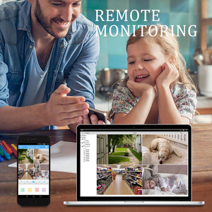 Image 5 - 4CH 1080P HDMI POE NVR Kit CCTV Security System IR Outdoor Audio IP Camera P2P Video Surveillance IP66 Waterproof Set