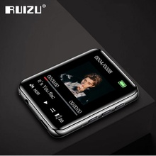 "New RUIZU M4 Portable Mini Bluetooth MP3 Player 1.8"" Full Touch Screen FM Radio E book Pedometer Video Player HiFi Music Player"