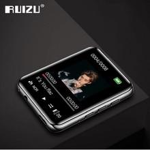 """Yeni RUIZU M4 taşınabilir Mini Bluetooth MP3 oynatıcı 1.8 """"tam dokunmatik ekran FM radyo e kitap pedometre Video çalar HiFi müzik çalar"""