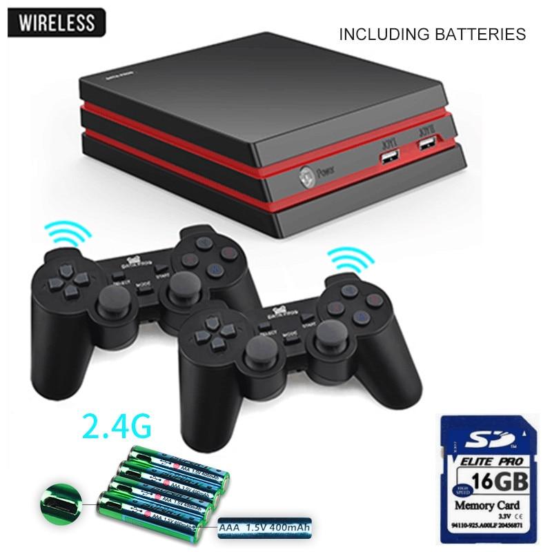 Игровая консоль-лягушка с 2,4G беспроводным контроллером HDMI, видео игровая консоль 600, классические игры для GBA family tv, Ретро игры - Цвет: Wireless 3 in 1