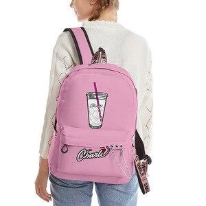 Новый рюкзак Charli DAmelio 3D карамельных цветов, рюкзаки с принтом Charli amielio, сумки, аксессуары для ключей Kpop, школьная сумка для студентов
