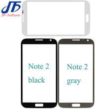 30psc Touch panel Vervanging Voor Samsung Galaxy Note 2 3 4 5 front LCD Outer Glas lens(China)