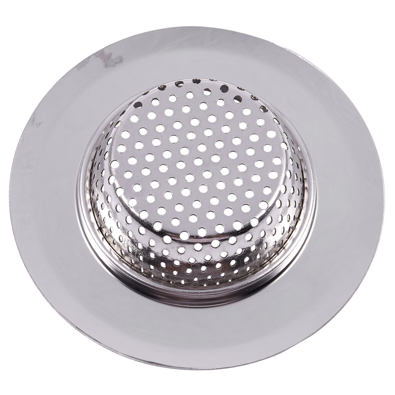 Top-Stainless Steel Mesh Hole Design Round Sink Strainer