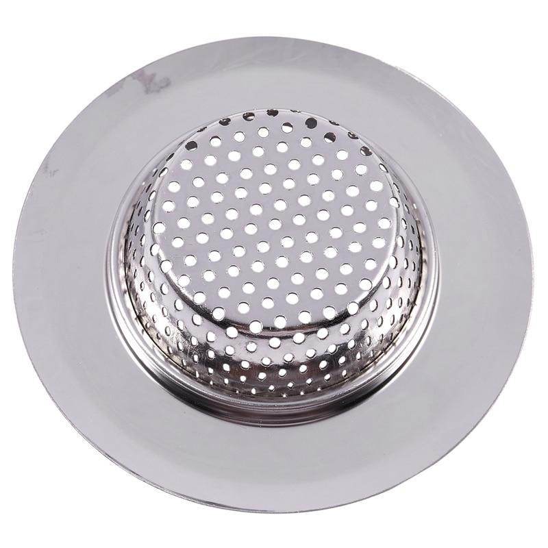 Top-Stainless Steel Mesh Hole Design Round Sink Strainer