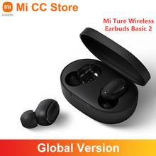 Global Versie Xiaomi Mi Echte Draadloze Oordopjes Basic 2 Tws Bluetooth Oortelefoon Stereo Bass Headset Redmi Airdots 2 Ai Controle cheap Gierst zuiger In-Ear Dynamische Cn (Oorsprong) wireless 104dBdB 0Nonem voor video game voor mobiele telefoon hifi hoofdtelefoon
