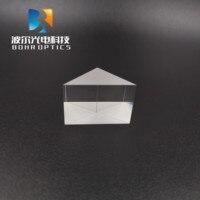 30x30x30mmm nenhum prisma do ângulo direito do revestimento N-BK7 (k9) componentes ópticos de vidro para instrumentos óticos da precisão