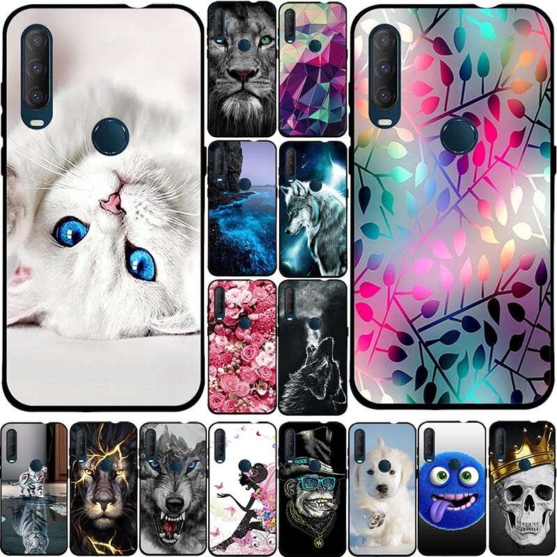 Cases For Alcatel 1SE 5030d 2020 Case Silicone TPU Protective Soft Back Cover For Alcatel 1SE 2020 1 SE Case Cute Anime Dog Bag