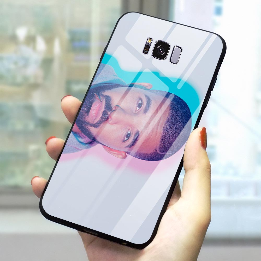 Ultra Thin Drake Tempered Glass Phone Cover for Samsung Galaxy S10 Case A70 A60 M40 A50 A40 A20 A30 A10 S7 Edge S8 S9 Plus image
