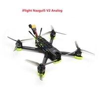 IFlight-Dron de carreras con visión en primera persona Nazgul5 V2, con cámara Caddx Ratel, control de vuelo, Motor 45A BLHeli_S ESC 2207, 5 pulgadas