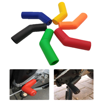 Universal Motorcycle Gear Shift Lever Covers Rubber Sock Protectors For BMW Ducati Honda Kawasaki KTM Suzuki Yamaha Gas Gas image