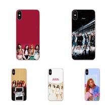 TPU Capa Coque Pour LG G2 G3 G4 G5 G6 G7 K4 K7 K8 K10 K12 K40 Mini Plus Stylet ThinQ 2016 2017 2018 Kpop Blackpink Noir Rose(China)
