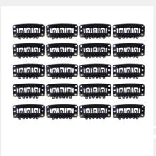 20 штук, маленького размера, круглой формы с диаметром 32 мм U образный зажимы для париков с силиконовая задняя крышка для волос аксессуары для...