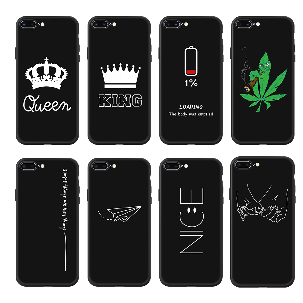 Silikon Telefon Fall Für <font><b>iPhone</b></font> XR XS Max <font><b>7</b></font> 8 6 6S <font><b>Plus</b></font> 5 5S Muster Cartoon Planeten space Star Zurück Abdeckung Für <font><b>iPhone</b></font> 11 Pro Shell image