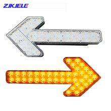 2Pcs LED Flash Strobe Car Signal Traffic Warning Lights Arrow Direction Lamp for Sprinkler Vehicles Construction Road Indicator