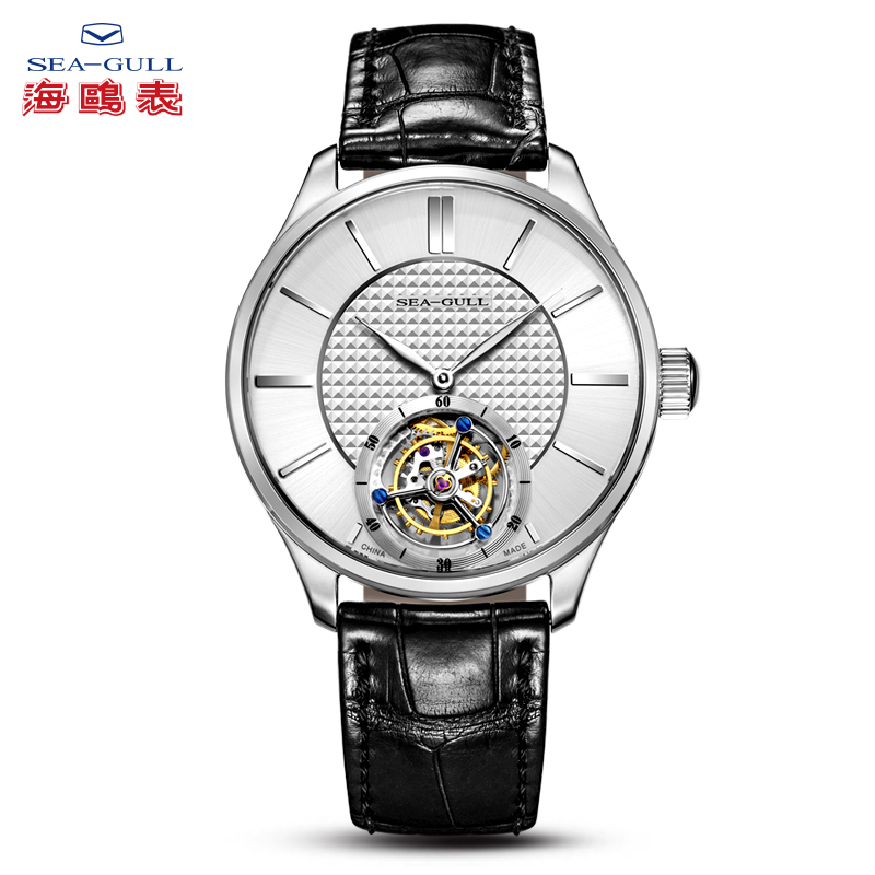 seagull watch men tourbillon mechanical watch luxury brand mechanical watch men2019 skeleton watches Business watch 818.860
