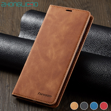 Leather Case for Samsung Galaxy note 10 S9 S8 S10 5G J4 J6 Plus Flip A