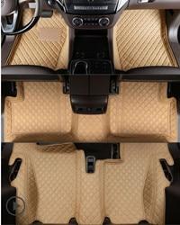 Лучшее качество! Пользовательские специальные автомобильные коврики для Mercedes Benz GL 350X166 7 мест 2016-2013 Водонепроницаемые ковры для GL350 2014